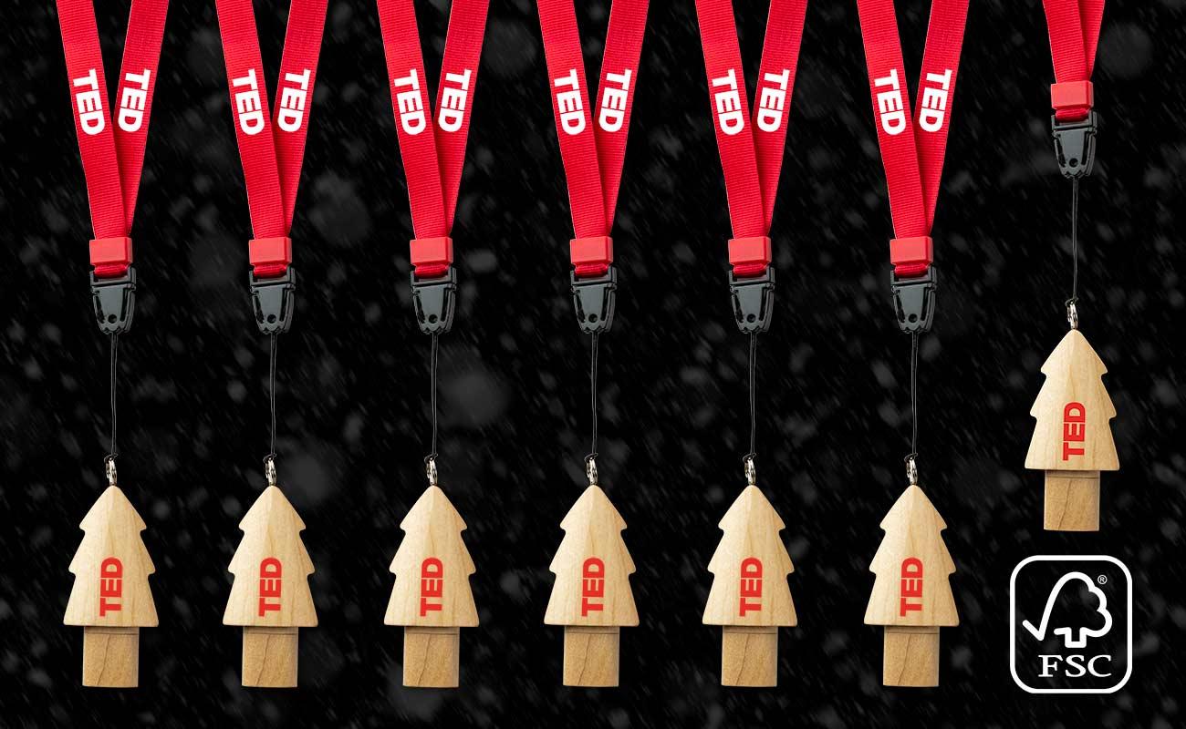 Christmas - Branded USB