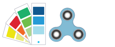 Pantone® References Fidget Spinner